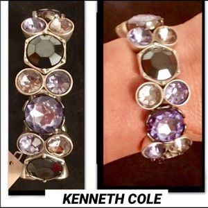 KENNETH COLE•BLUE JEWELED GEOMETRIC BRACELET